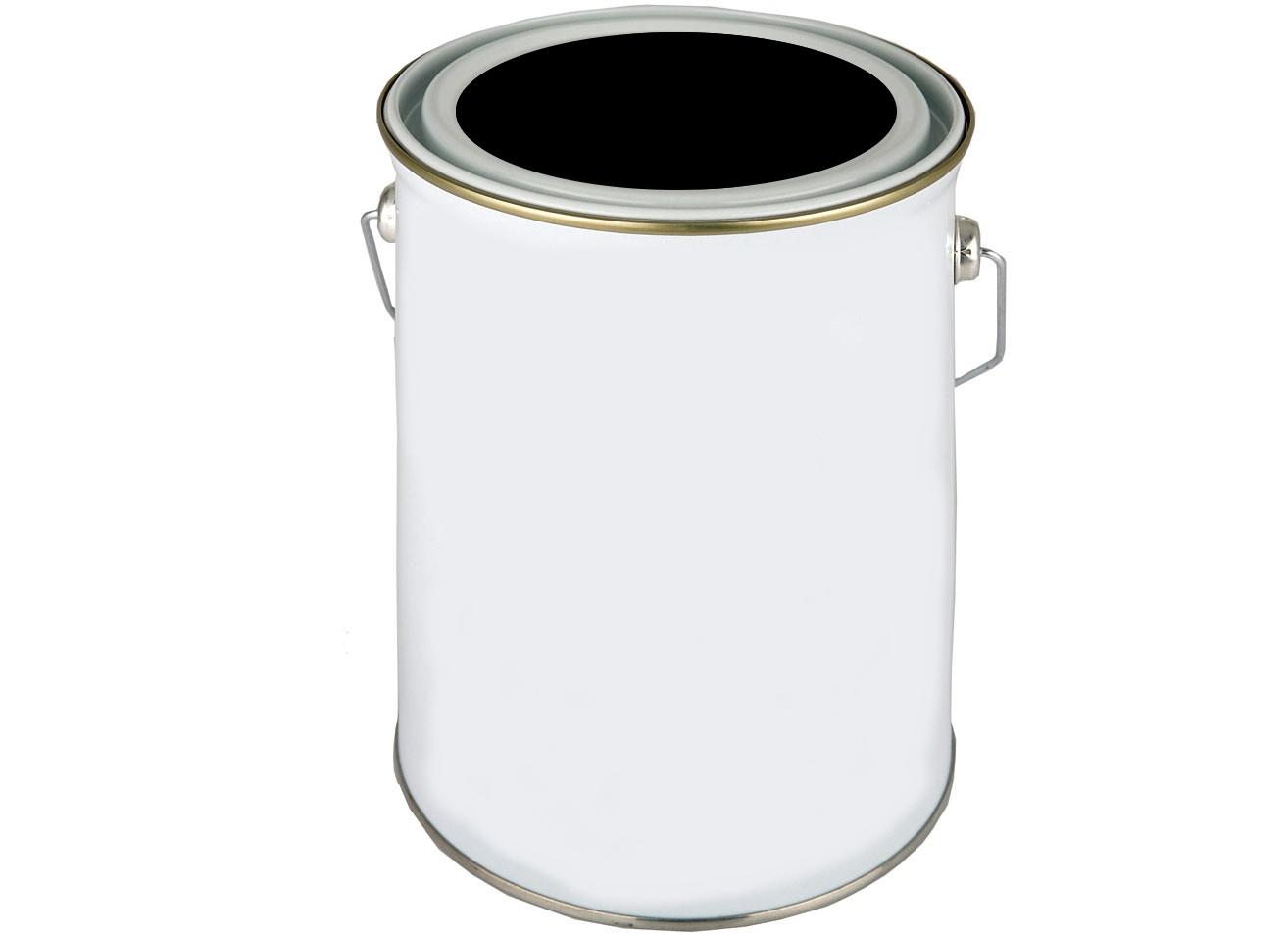 Bote de pintura rationalize - Blanco y negro paint ...